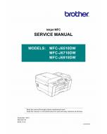 Brother Inkjet-MFC J6510 J6710 J6910 DW Service Manual