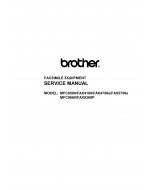 Brother MFC 8500 9660 FAX4100 5750 8360 Service Manual