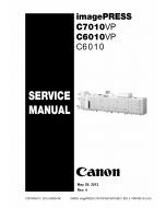 CANON imagePRESS C6010 C6010VP C7010VP Service Manual PDF download
