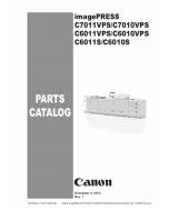CANON imagePRESS C7011VPS C7010VPS C6011VPS C6010VPS C6011S C6010S Parts Manual PDF download