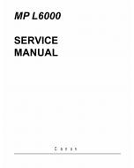 Canon MultiPASS MP-L6000 Service Manual