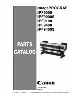 Canon imagePROGRAF iPF-9400S 9400 9100 9000S 9000 Parts Catalog Manual