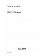 Canon imageRUNNER-iR 6570 5570 Service Manual