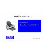 EPSON StylusPhoto 1390 1400 1410 Parts Manual