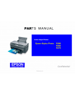 EPSON StylusPhoto R265 R260 R270 Parts Manual
