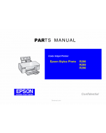 EPSON StylusPhoto R280 R285 R290 Parts Manual