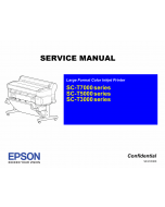 Epson SureColor T3000 T5000 T7000 Service Manual