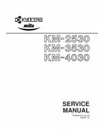 KYOCERA Copier KM-2530 3530 4030 Service Manual