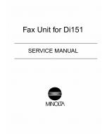 Konica-Minolta MINOLTA Di151 FAX Service Manual