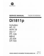 Konica-Minolta MINOLTA Di1811p THEORY-OPERATION Service Manual