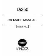 Konica-Minolta MINOLTA Di250 GENERAL Service Manual