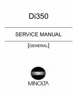 Konica-Minolta MINOLTA Di350 GENERAL Service Manual