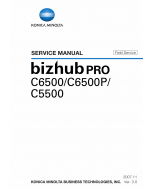 Konica-Minolta bizhub-PRO C6500 C6500P C5500 FIELD-SERVICE Service Manual