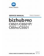 Konica-Minolta bizhub-PRO C6501 C6501P C65hc C5501 THEORY-OPERATION Service Manual