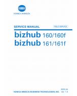 Konica-Minolta bizhub 160 160f 161 161f FIELD-SERVICE Service Manual