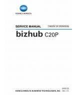 Konica-Minolta bizhub C20P THEORY-OPERATION Service Manual