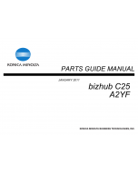 Konica-Minolta bizhub C25 Parts Manual