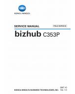 Konica-Minolta bizhub C353P FIELD-SERVICE Service Manual