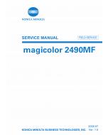 Konica-Minolta magicolor 2490MF FIELD-SERVICE Service Manual
