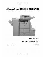 RICOH Aficio 350e 450e A283 A284 Parts Catalog