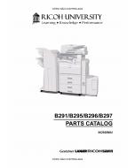 RICOH Aficio MP-3500g 4500g 3500 4500 B291 B295 B296 B297 Parts Catalog