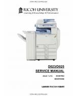 RICOH Aficio MP-C2800 C3300 D023 D025 Service Manual