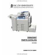 RICOH Aficio MP-C3001 C3501 D086 D087 Parts Catalog