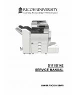 RICOH Aficio MP-C3002 C3502 D111 D142 Service Manual