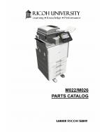 RICOH Aficio MP-C300 C400 M022 M026 Parts Catalog