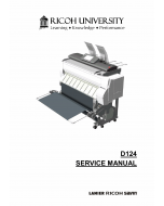 RICOH Aficio MP-CW2200SP D124 Service Manual