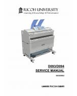 RICOH Aficio MP-W2401 W3601 D093 D094 Service Manual
