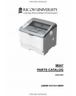 RICOH Aficio SP-6330N M047 Parts Catalog