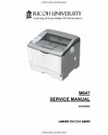 RICOH Aficio SP-6330N M047 Service Manual