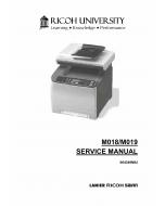RICOH Aficio SP-C231SF C232SF M018 M019 Service Manual