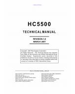 RISO HC 5500 TECHNICAL Service Manual