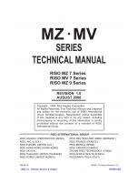 RISO MZ 770 790 970 990 MV-7690 TECHNICAL Service Manual