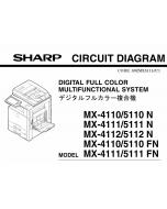 SHARP MX 4110 4111 4112 5110 5111 5112 N Circuit Diagrams