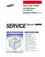 Samsung Color-Laser-Printer CLP-650 650N Parts and Service Manual
