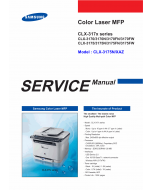 Samsung Digital-Color-Laser-MFP CLX-3170 3175 N FN FW Service and Parts Manual