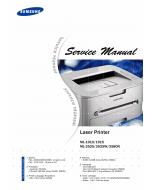 Samsung Laser-Printer ML-1910 1915 2525 2525W 2580N Parts and Service Manual