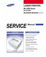 Samsung Laser-Printer ML-2570 2571N Parts and Service Manual