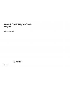 Canon ImagePROGRAF iPF750 755 Circuit Diagram