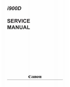 Canon PIXUS i900D i905D 900PD Service Manual