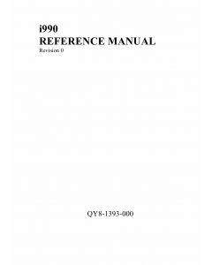 Canon PIXUS i990 Service Manual