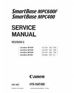 Canon SmartBase MPC400 600F Service Manual
