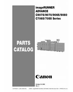 Canon imageRUNNER-ADVANCE-iR C7065 C7055 C9075 C9070 C9065 C9060 Parts Catalog