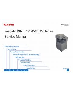 Canon imageRUNNER-iR 2535 2535i 2545 2545i Service Manual