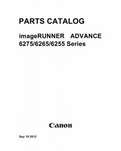 Canon imageRUNNER-iR 6255 6265 6275 i Parts Catalog