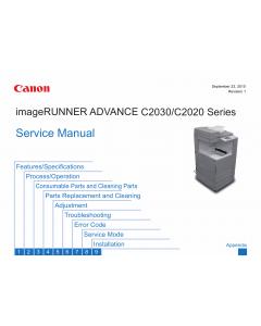 Canon imageRUNNER-iR C2020 C2025 C2030 Service Manual