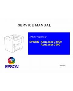 EPSON AcuLaser C1900 C900 Service Manual